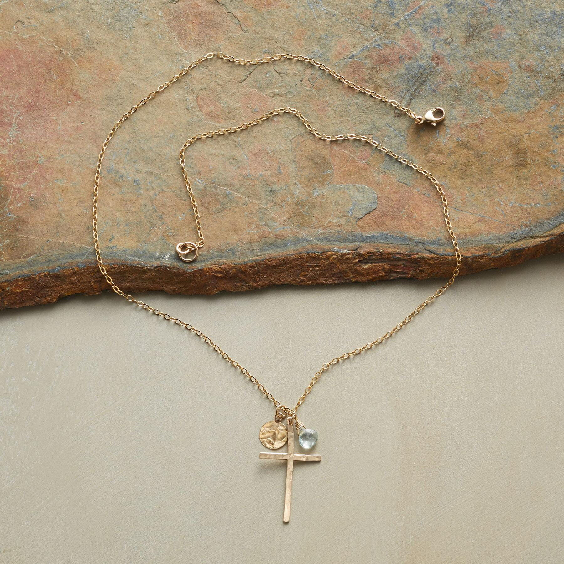 SKYLINE CROSS NECKLACE: View 2