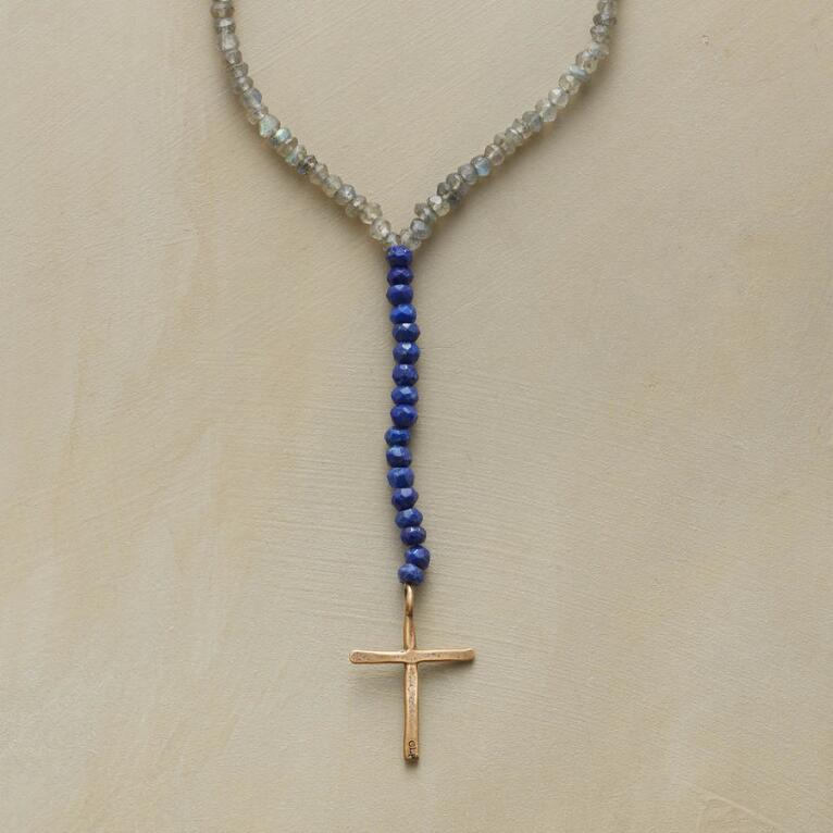 CELESTIAL CROSS NECKLACE