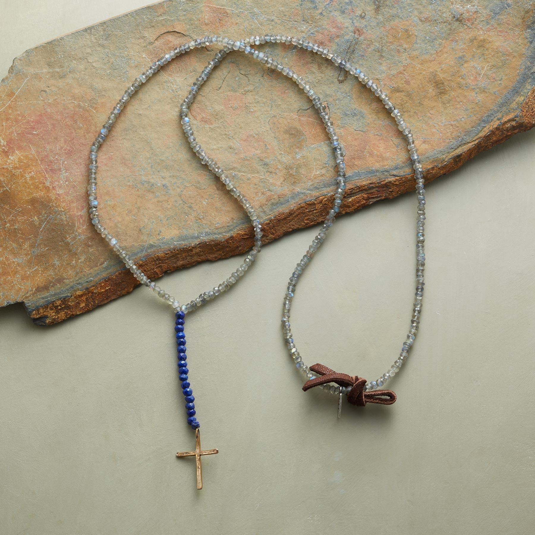 CELESTIAL CROSS NECKLACE: View 2