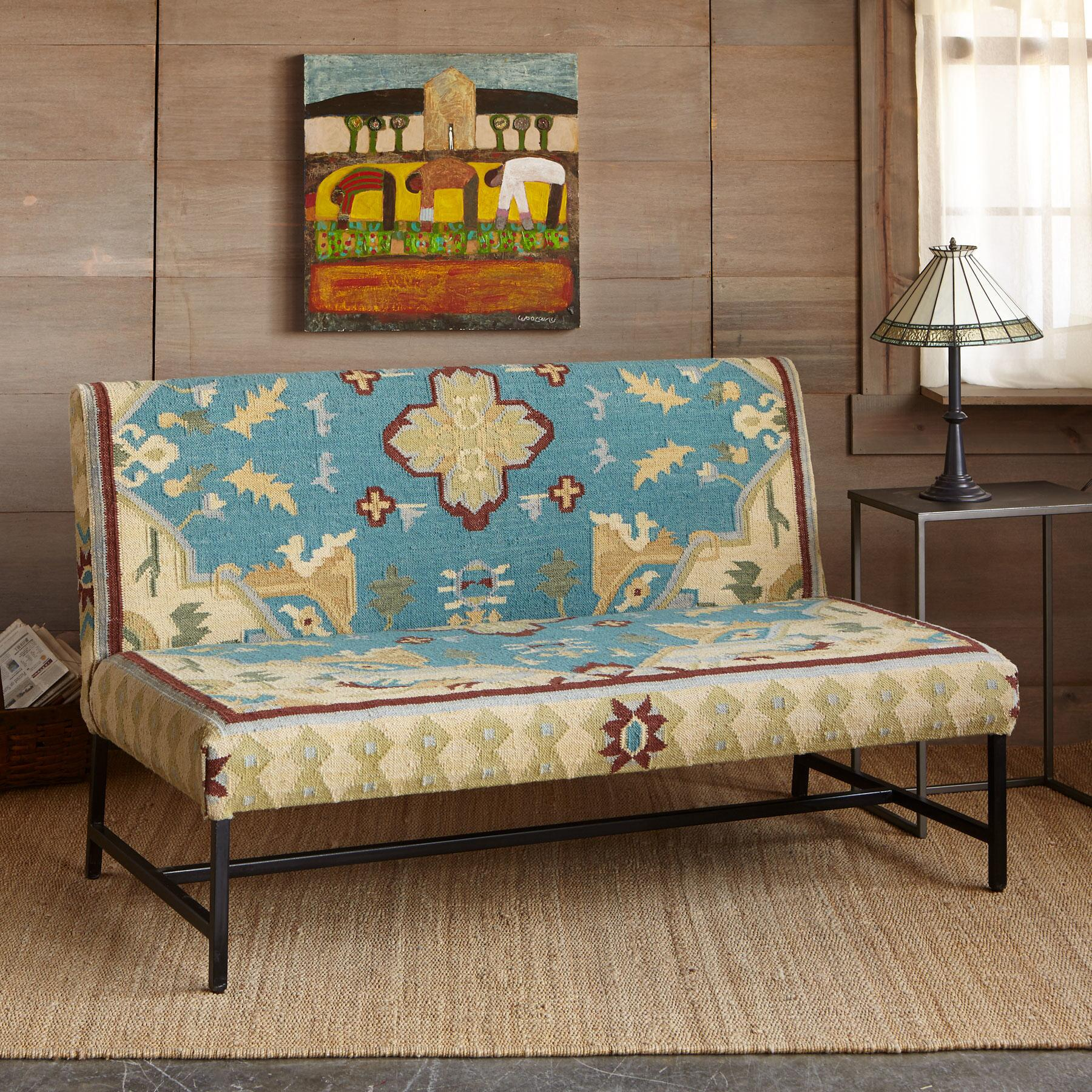 AZURA KILIM LOVESEAT: View 1