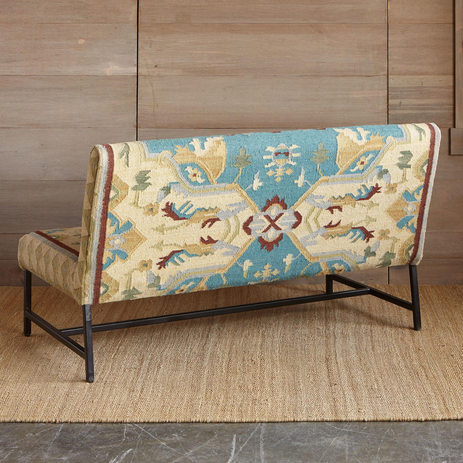 AZURA KILIM LOVESEAT: View 2