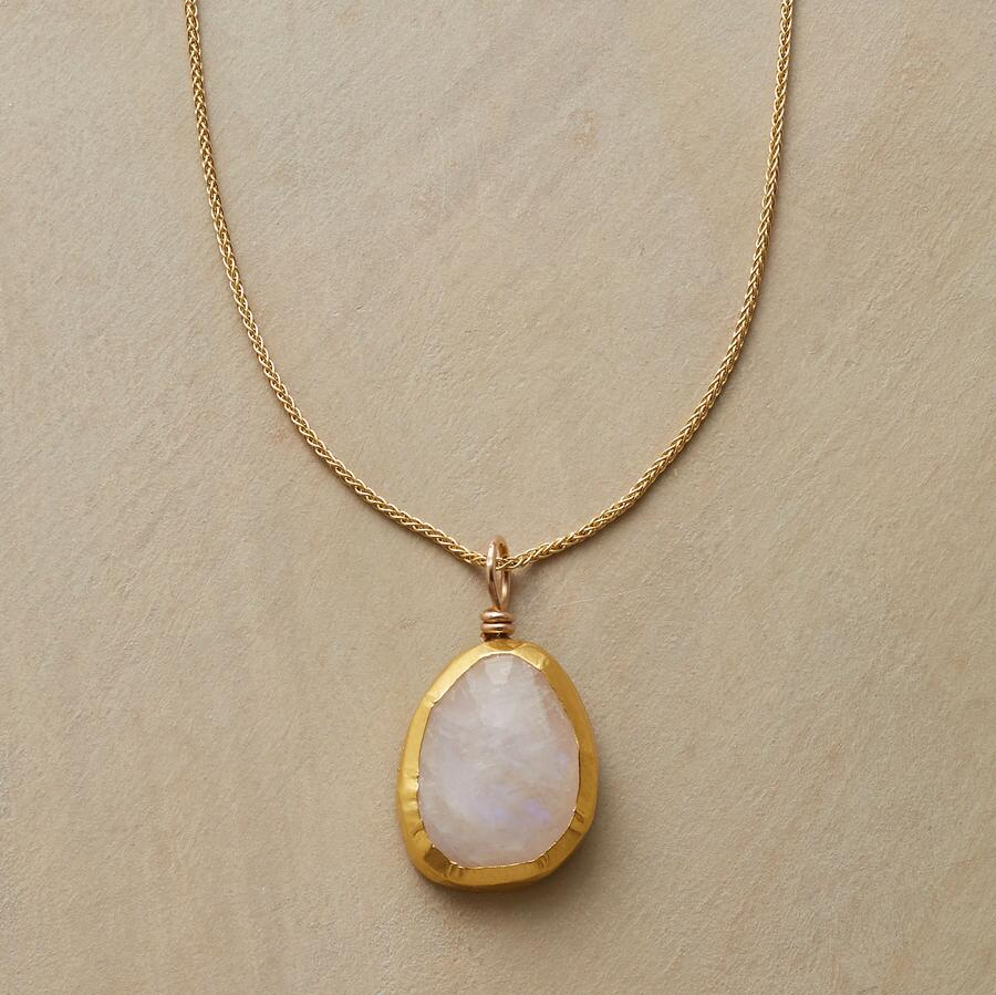 CHARMED MOONSTONE NECKLACE