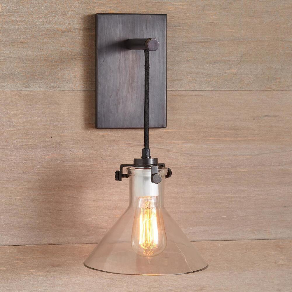 Glass pendant light sconce robert redfords sundance catalog meridian sconce pendant light aloadofball Choice Image