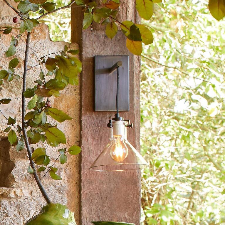 Glass pendant light sconce robert redfords sundance catalog meridian sconce pendant light view 3 aloadofball Gallery
