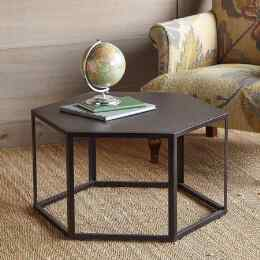 ROUTE 66 HEXAGON COFFEE TABLE