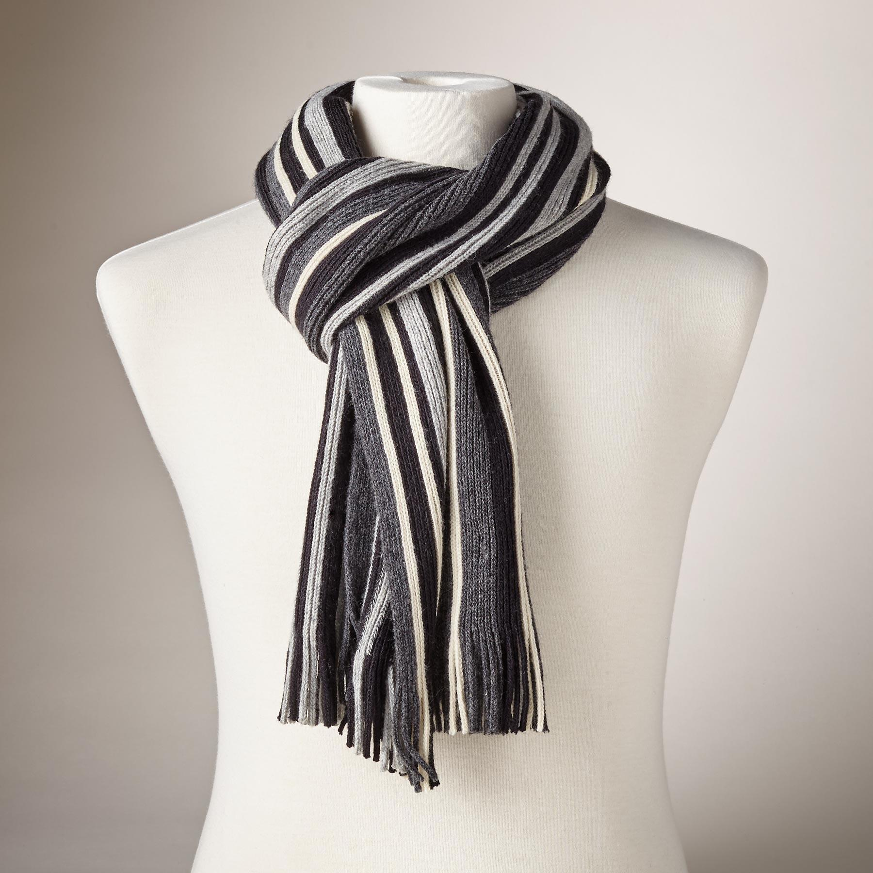 HARRY STRIPED SCARF: View 1