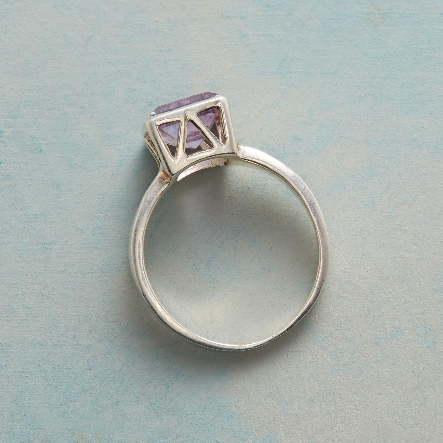 SKYSCRAPER AMETHYST RING: View 2