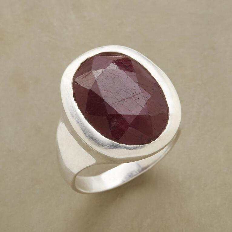 RUBY REVEL RING
