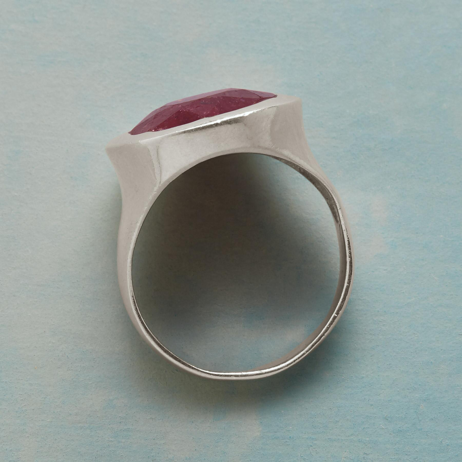 RUBY REVEL RING: View 2