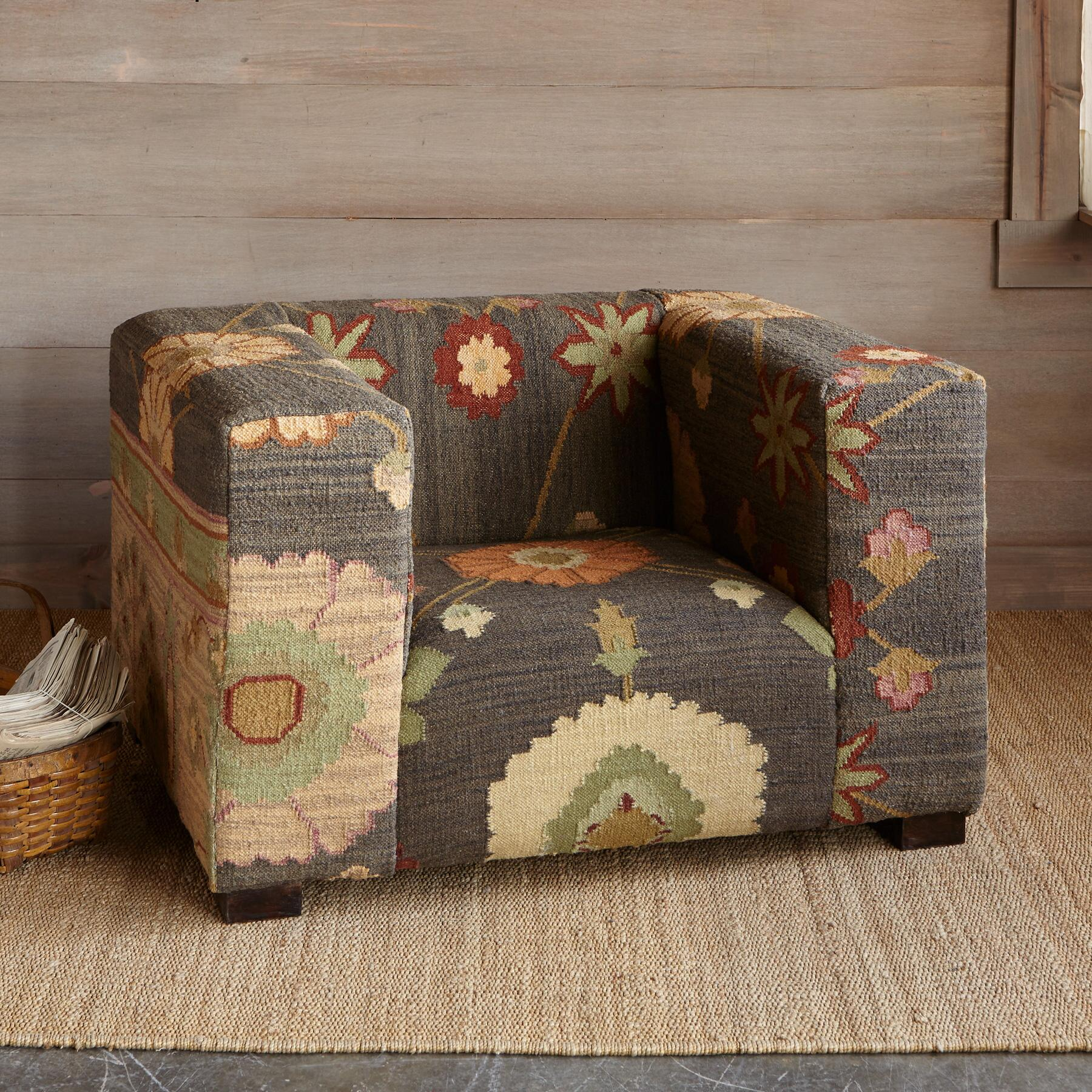 KISMET KILIM CHAIR: View 1