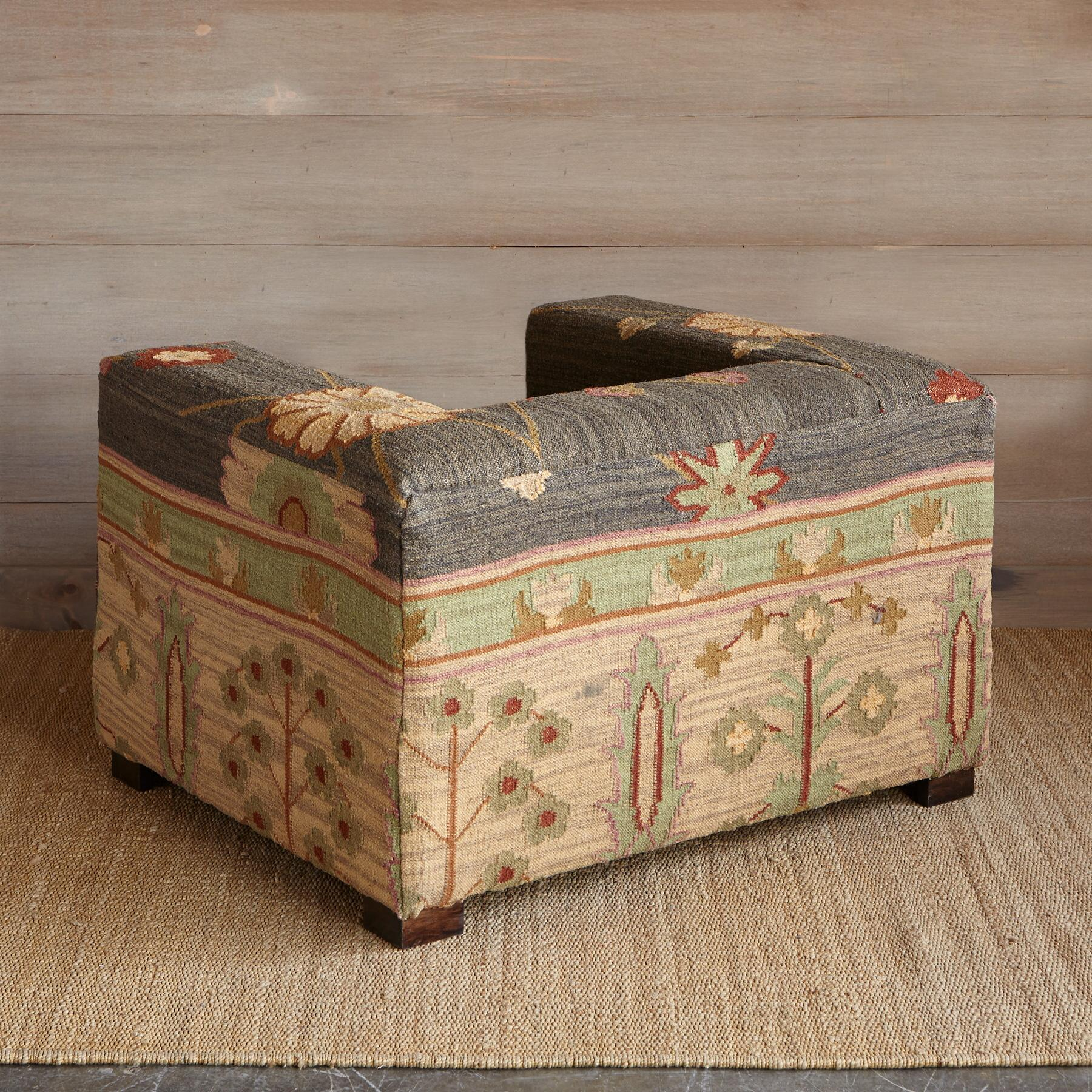 KISMET KILIM CHAIR: View 3
