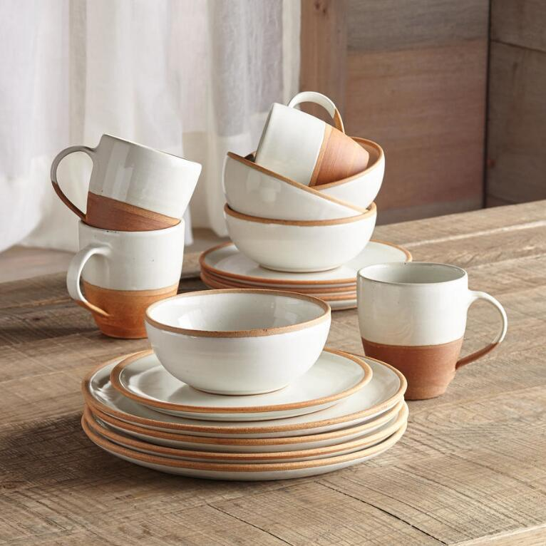 TERRA DINNERWARE, 16-PIECE SET