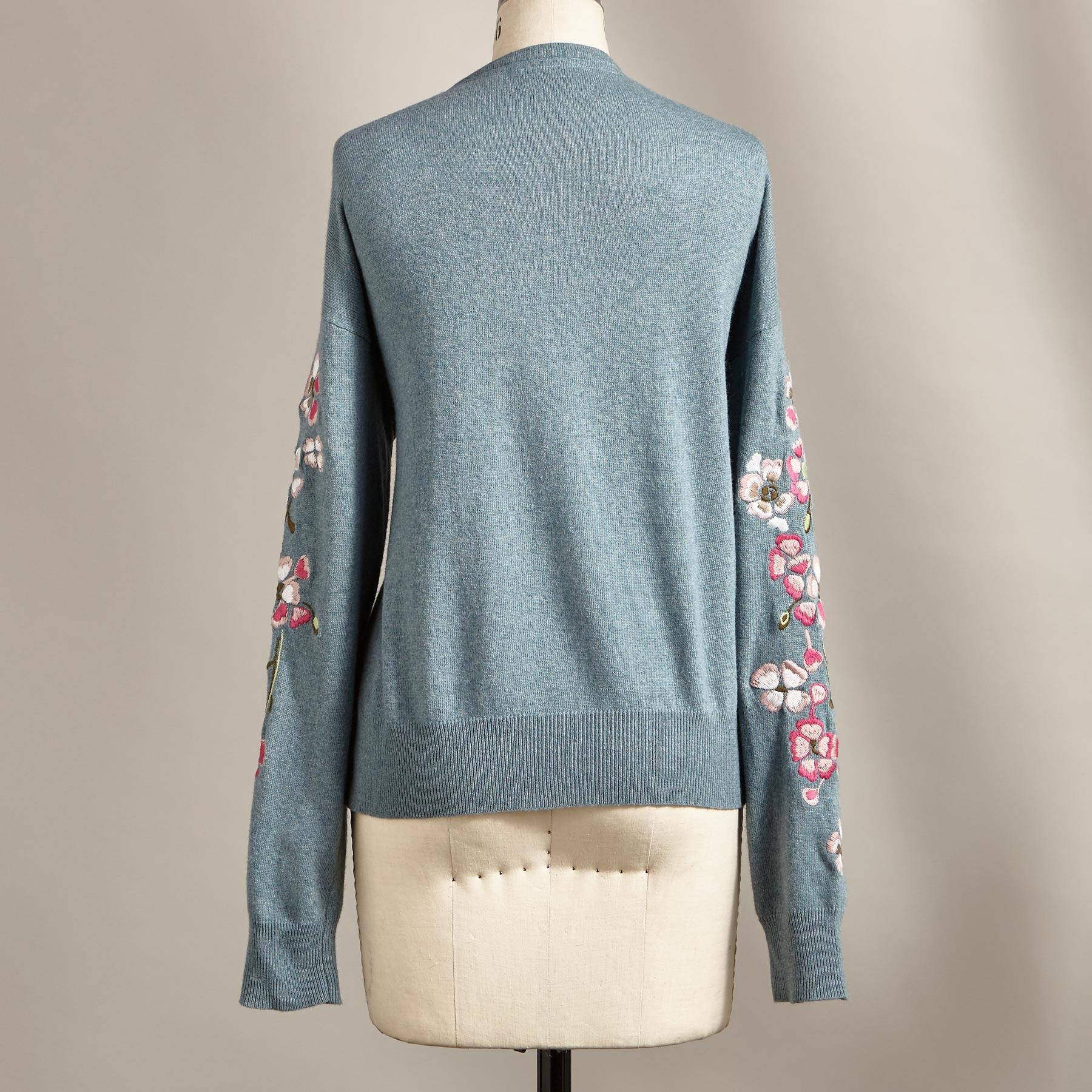 FROSTED BLOSSOMS CARDIGAN: View 2