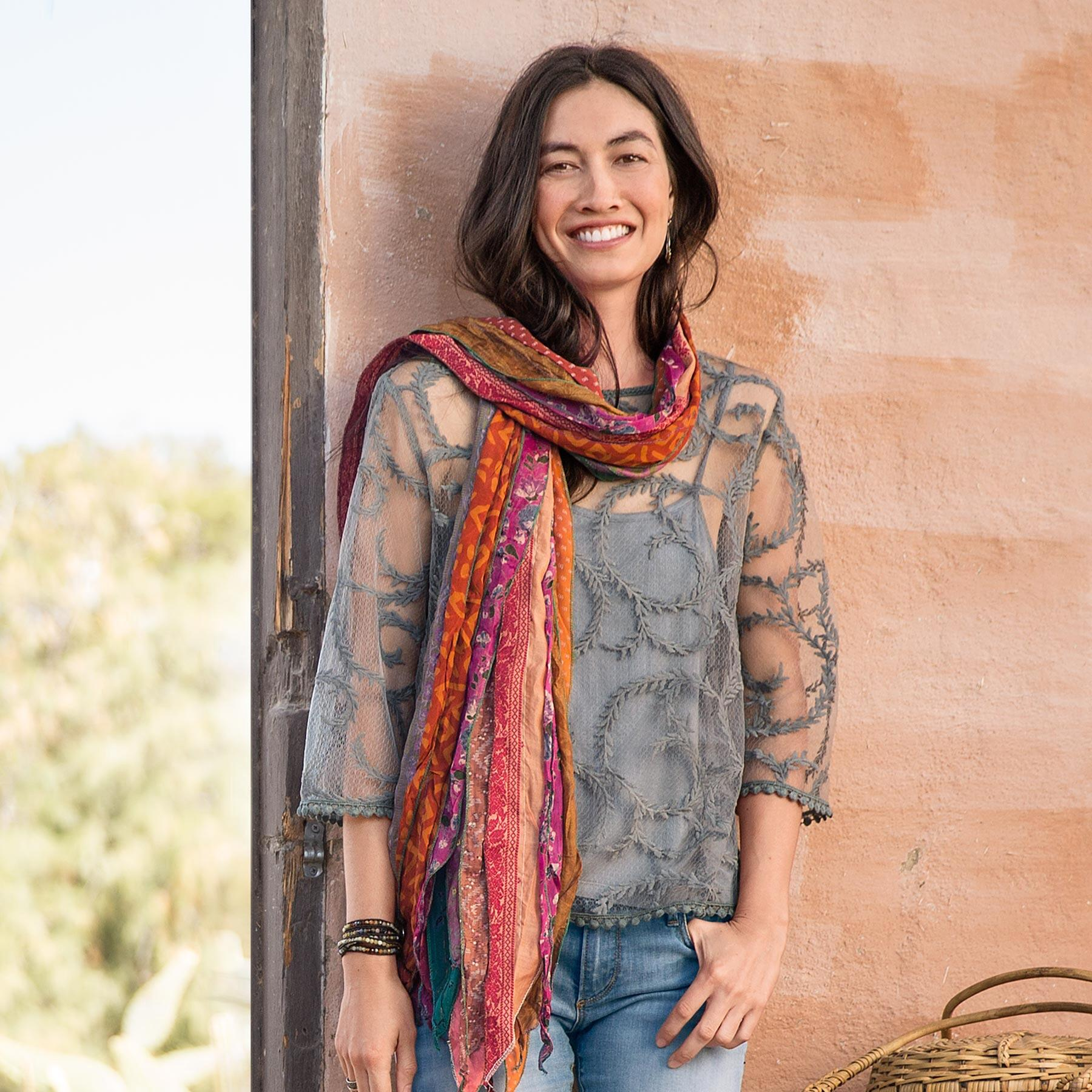 TRANQUIL SKIES SCARF: View 7