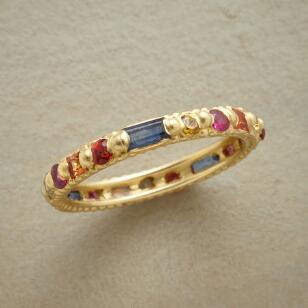 SAPPHIRE ANTHOLOGY RING