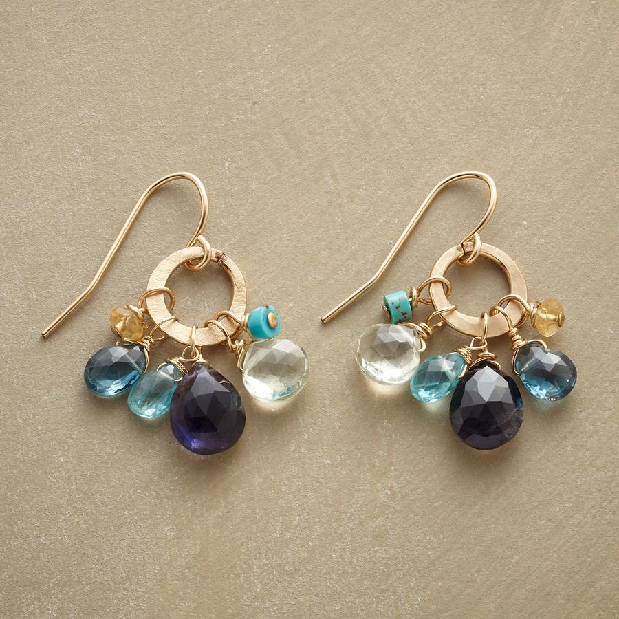 BLUEBOW EARRINGS