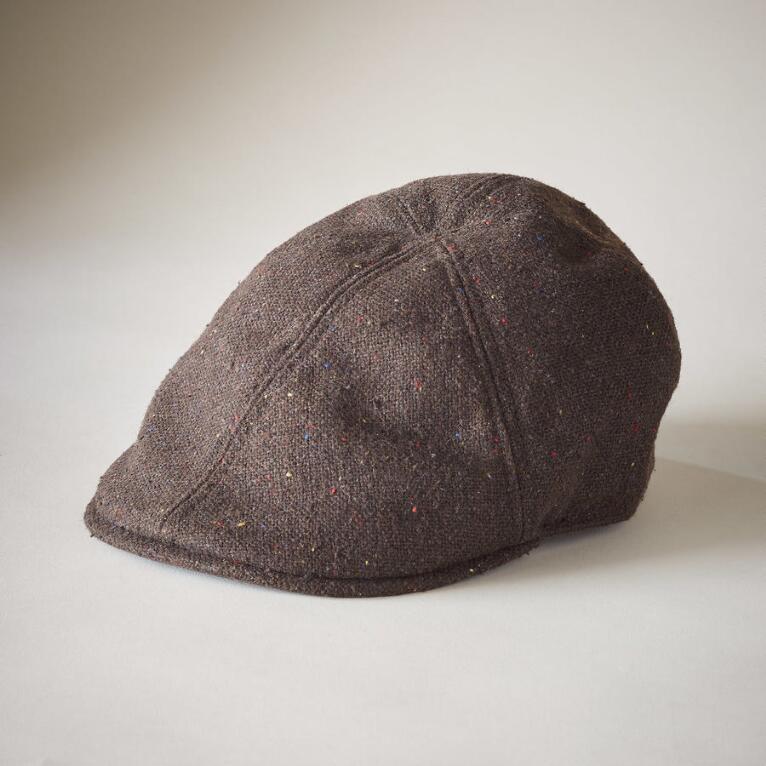 BROWN DRIVER'S SEAT CAP