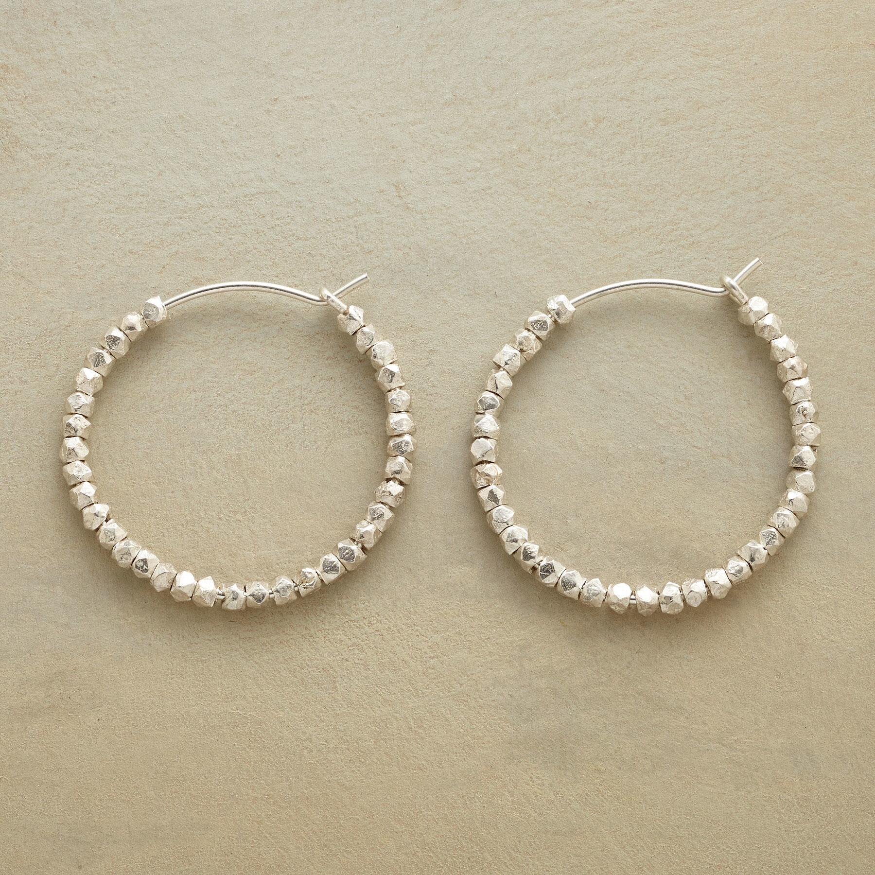 BEAD BY BEAD HOOP EARRINGS: View 1