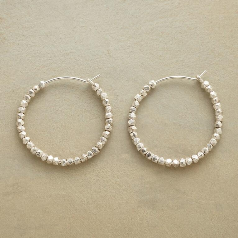 BEAD BY BEAD HOOP EARRINGS
