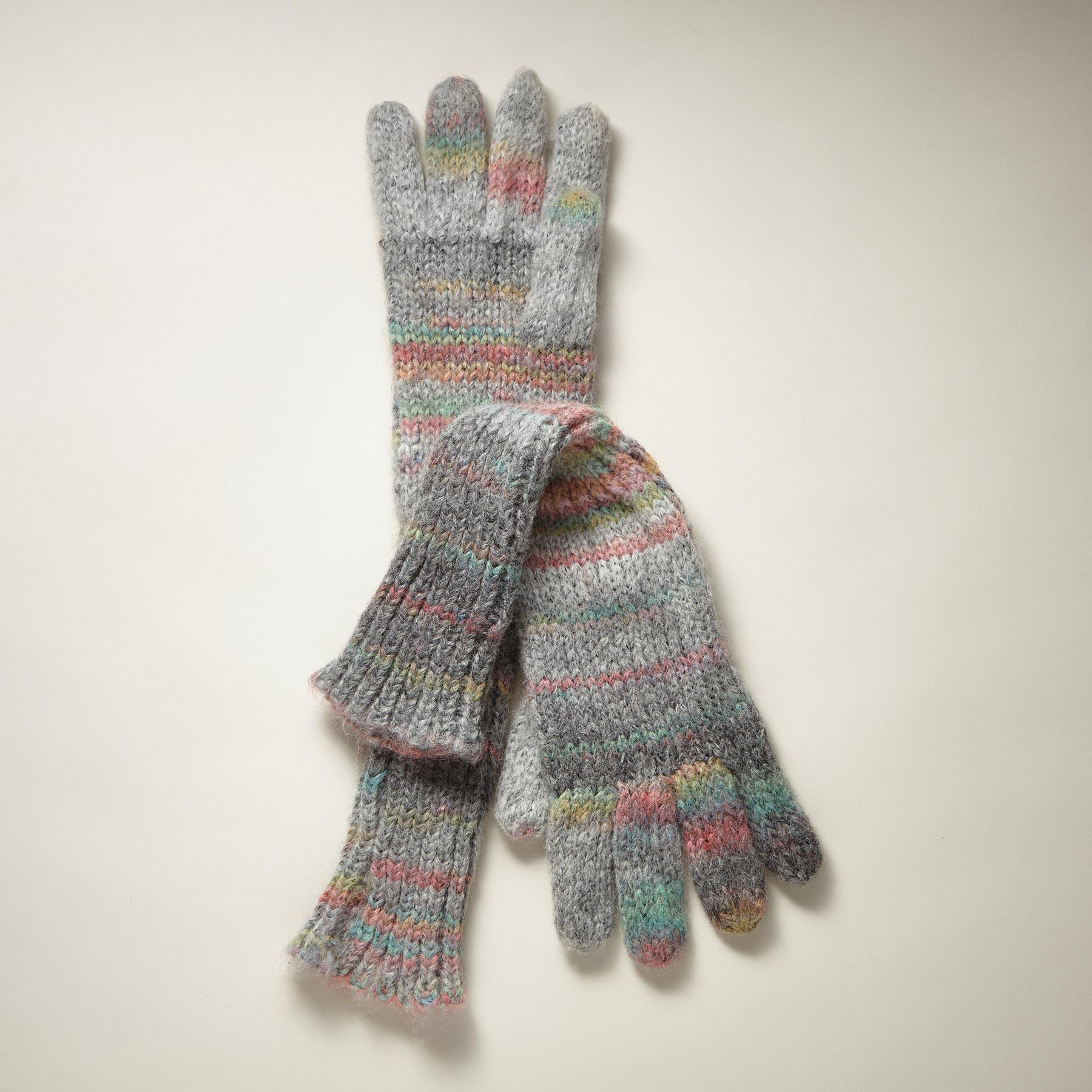 KNIT THE SKY LONG GLOVES: View 1