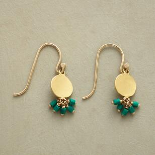 MALACHITE FALLS EARRINGS