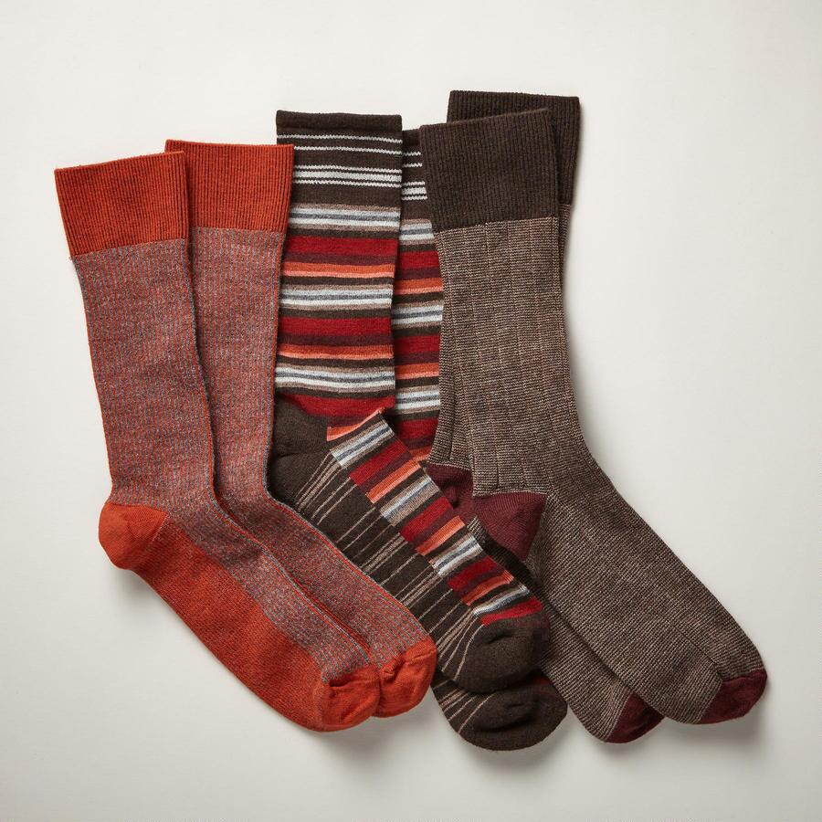 COUNTRYMAN SOCKS - RUST S/3