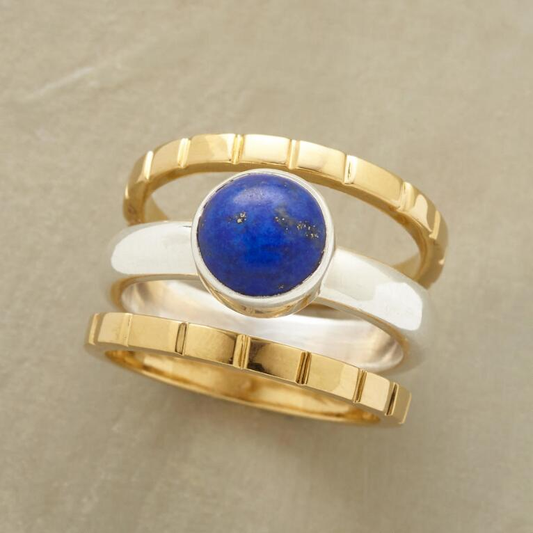 BOUND TO BLUE RINGS S/3