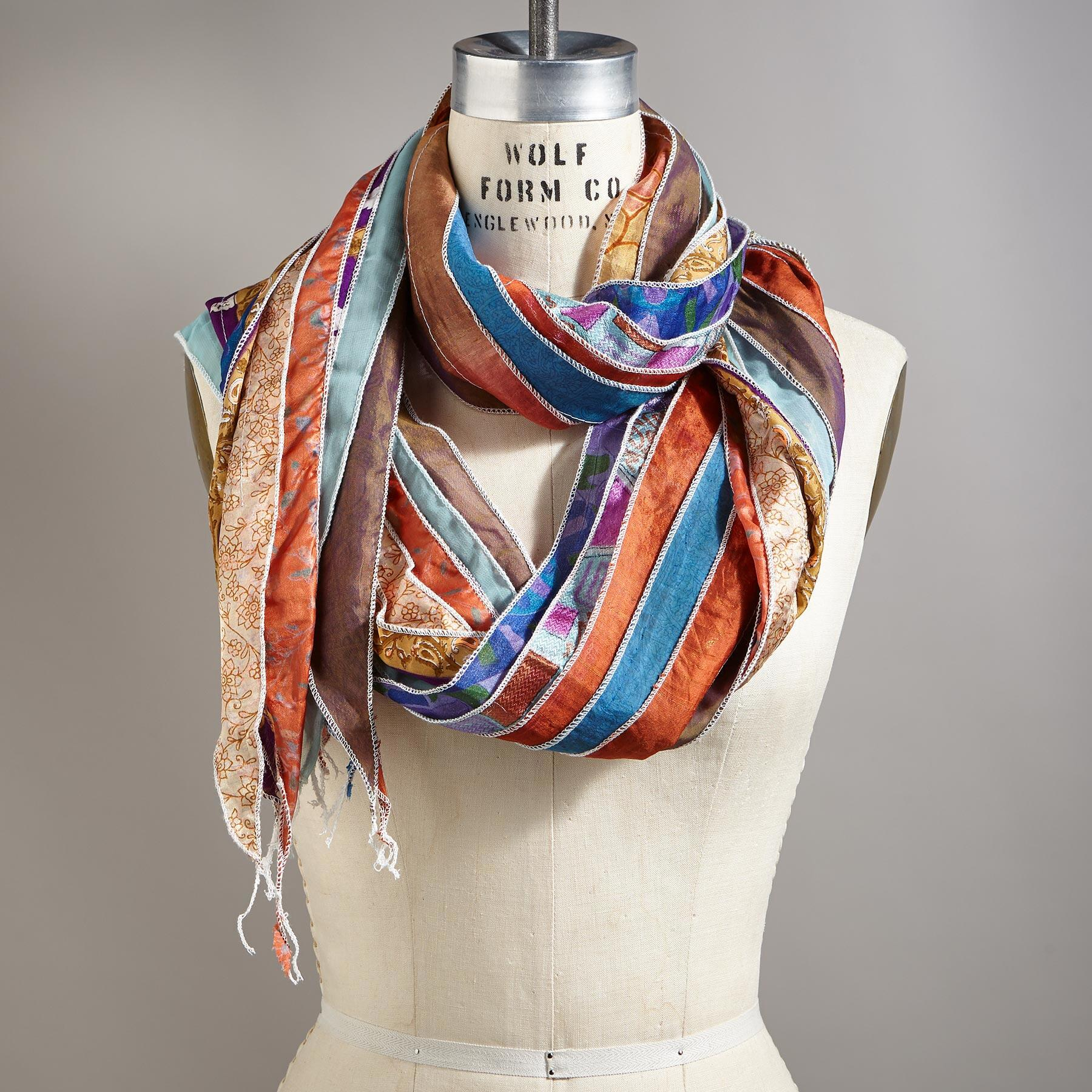 PIECES OF PARADISE SCARF: View 1