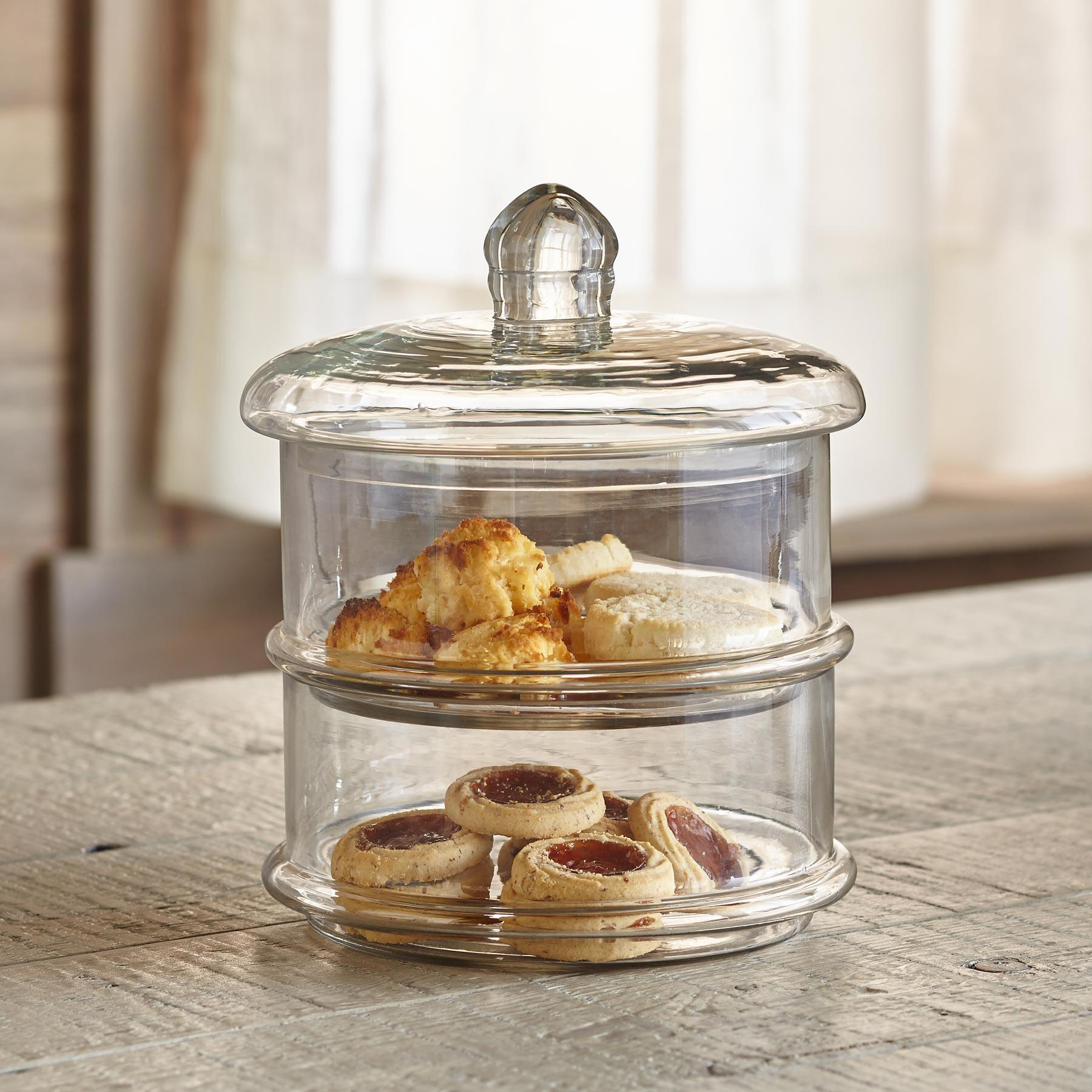 LUSTRE GLASS CANISTER: View 2