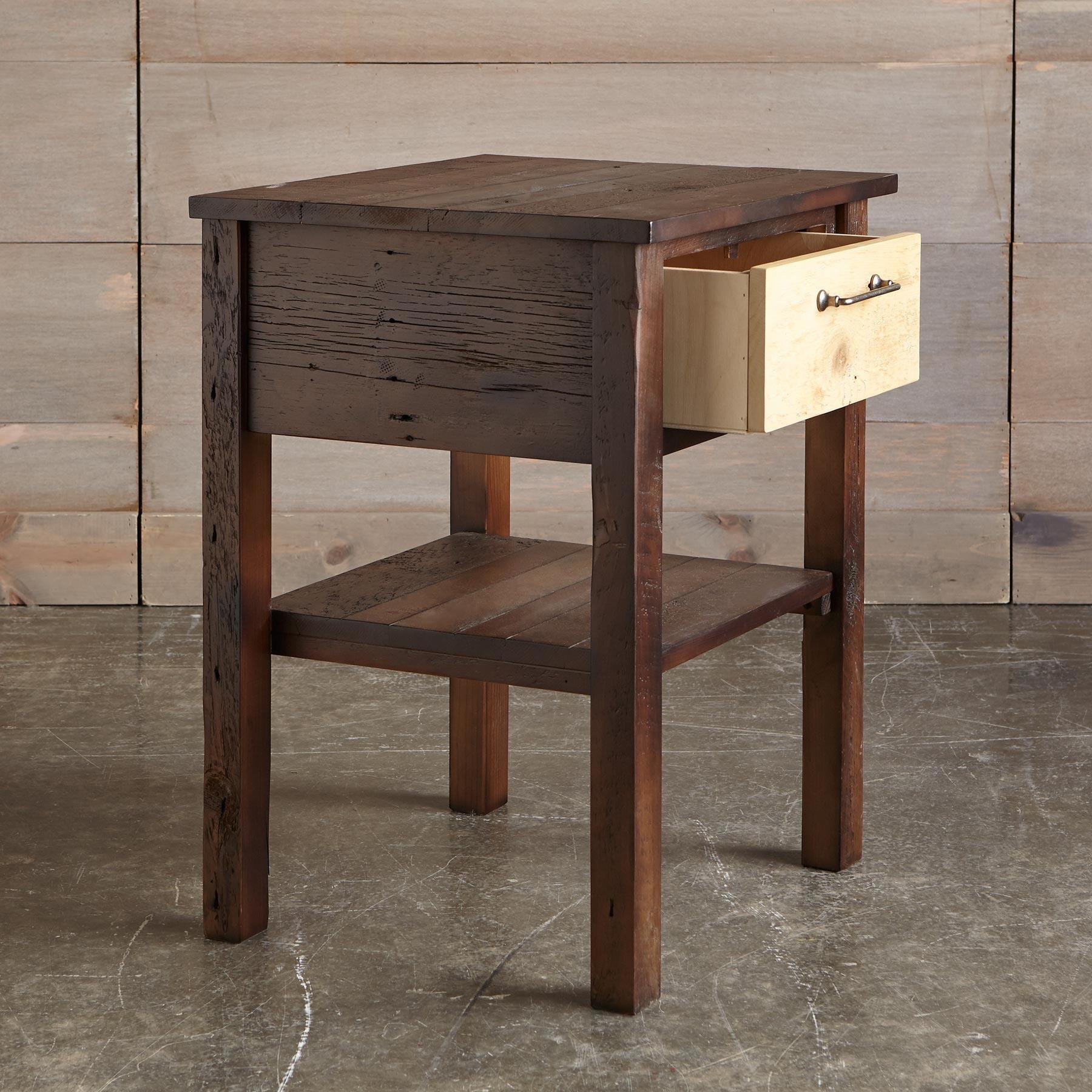 KENYON BARNWOOD NIGHTSTAND: View 2