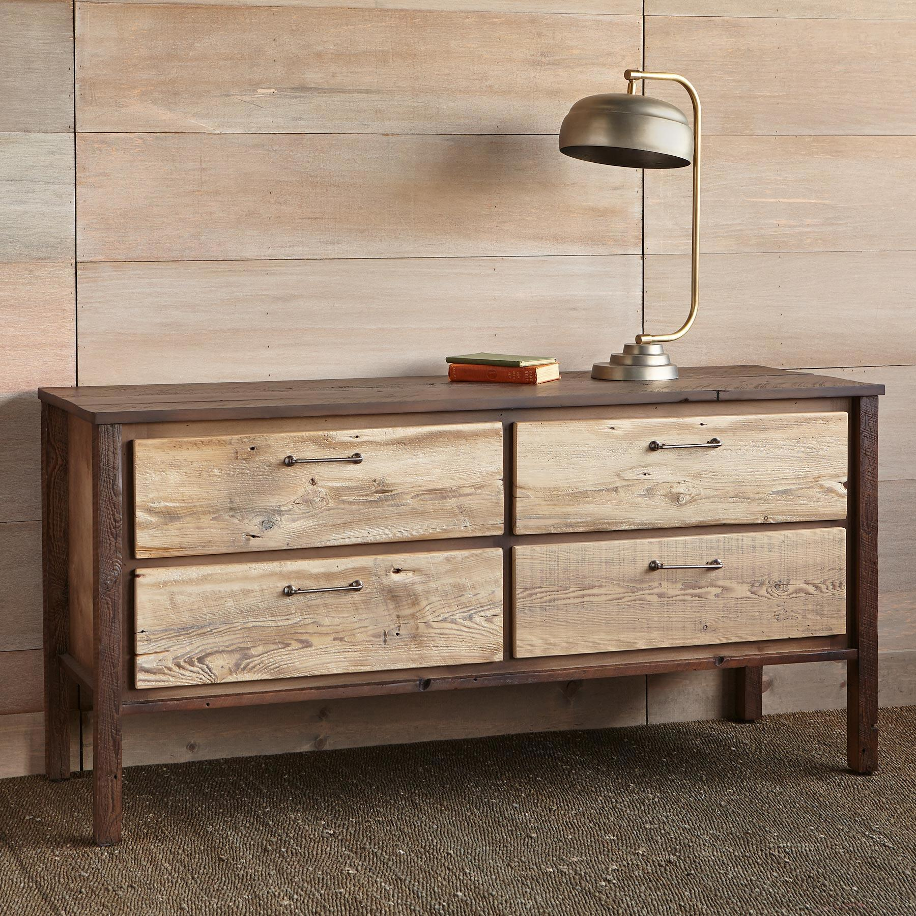 KENYON BARNWOOD LOW DRESSER: View 1