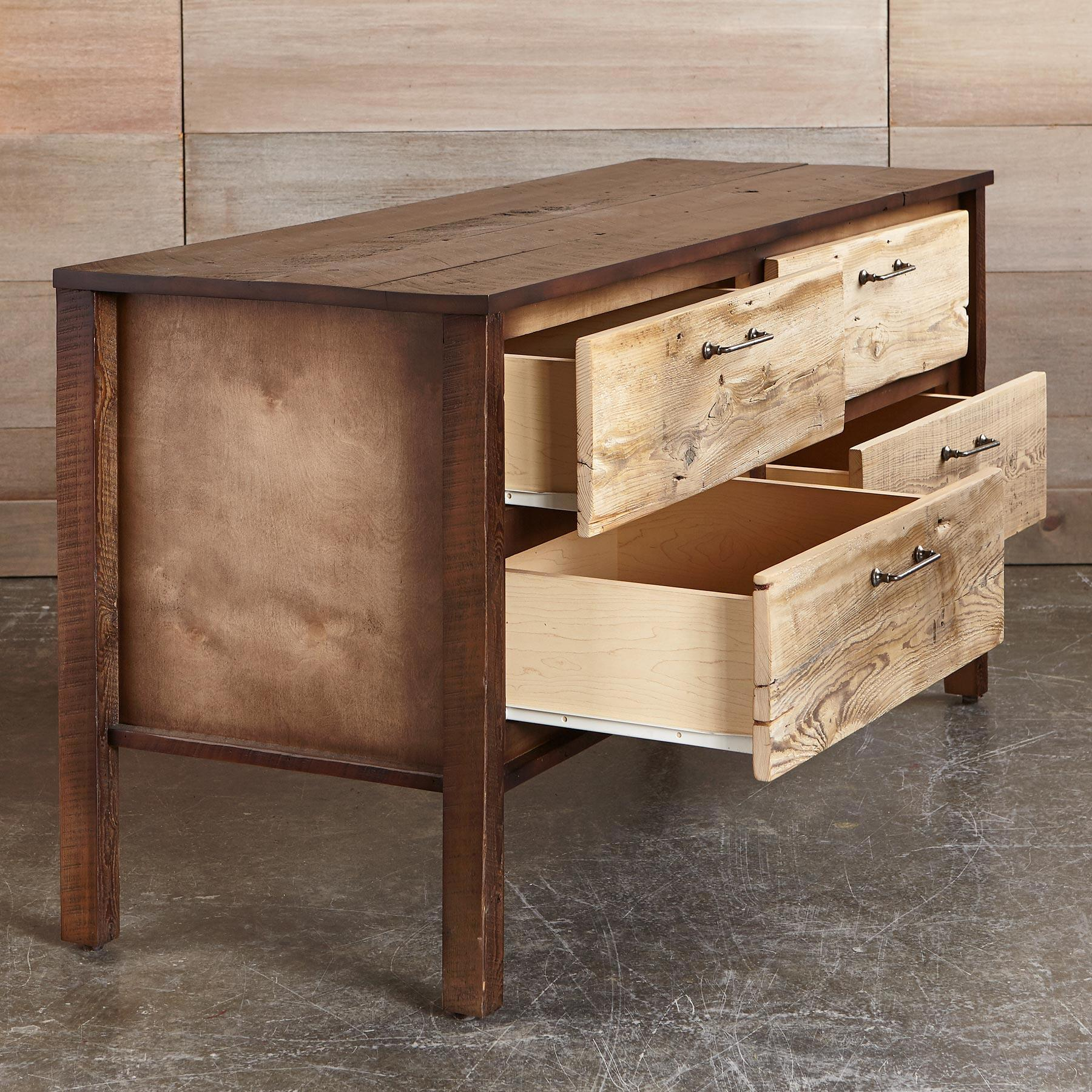 KENYON BARNWOOD LOW DRESSER: View 2