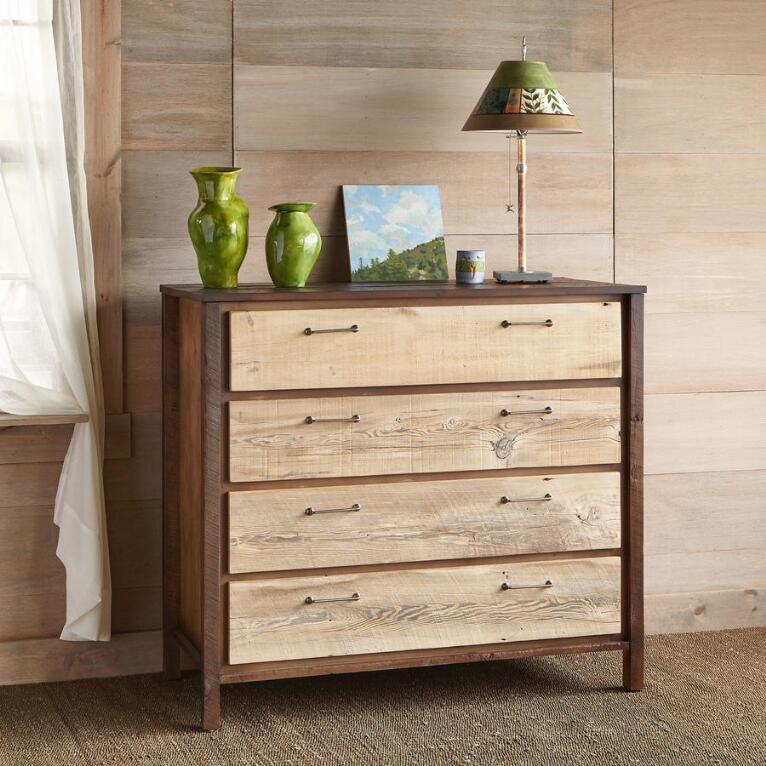 KENYON BARNWOOD HIGH DRESSER