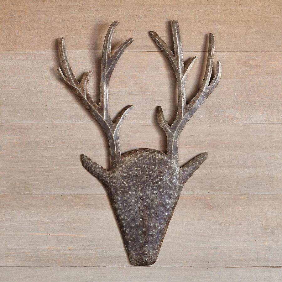 RUSTY THE REINDEER WALL ART