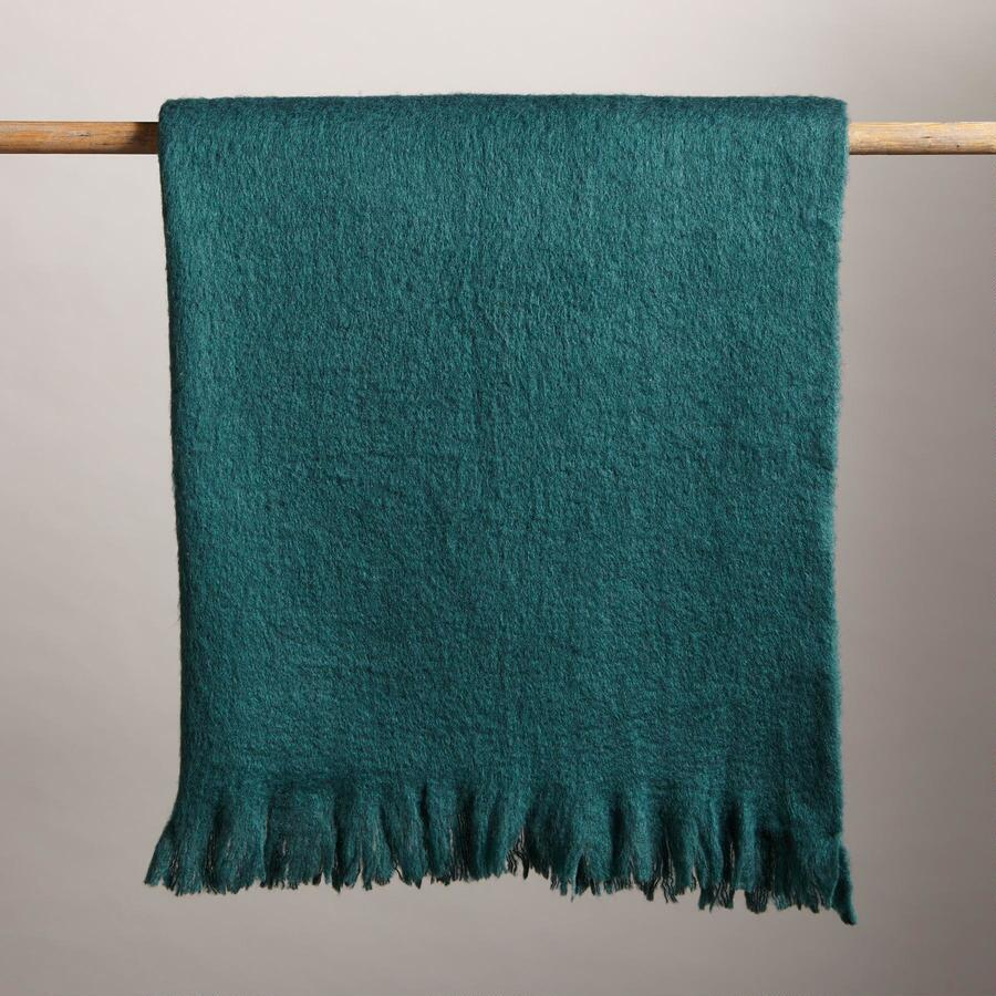 SUGARHOUSE EVERGREEN THROW