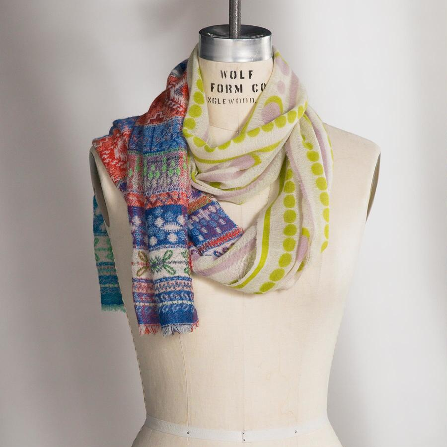 FABRIC OF LIFE SCARF