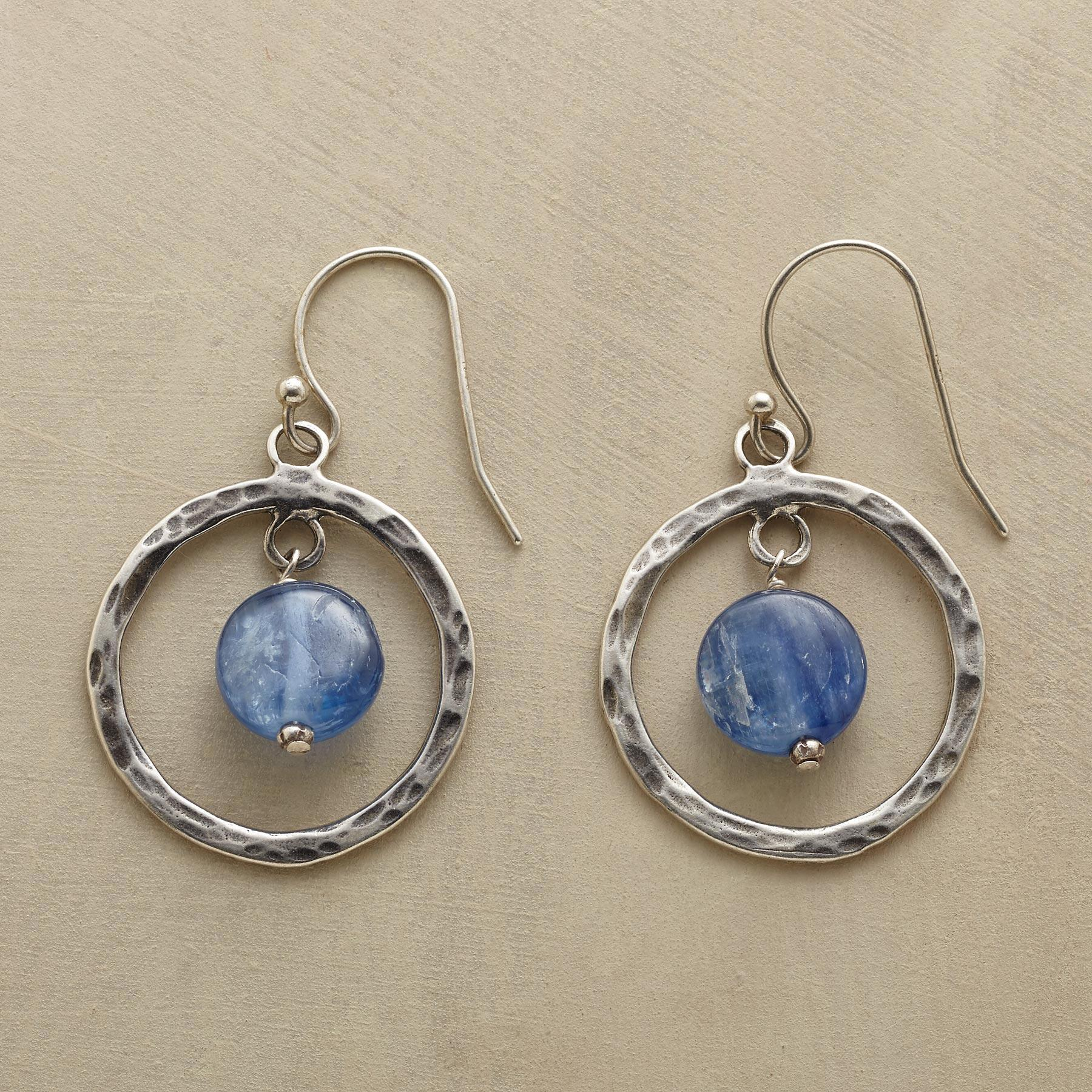 RARE MOON EARRINGS: View 1
