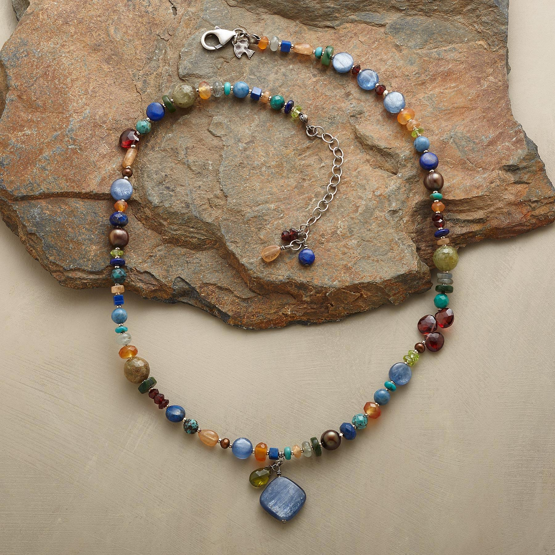 ARTIST'S PALETTE NECKLACE: View 2
