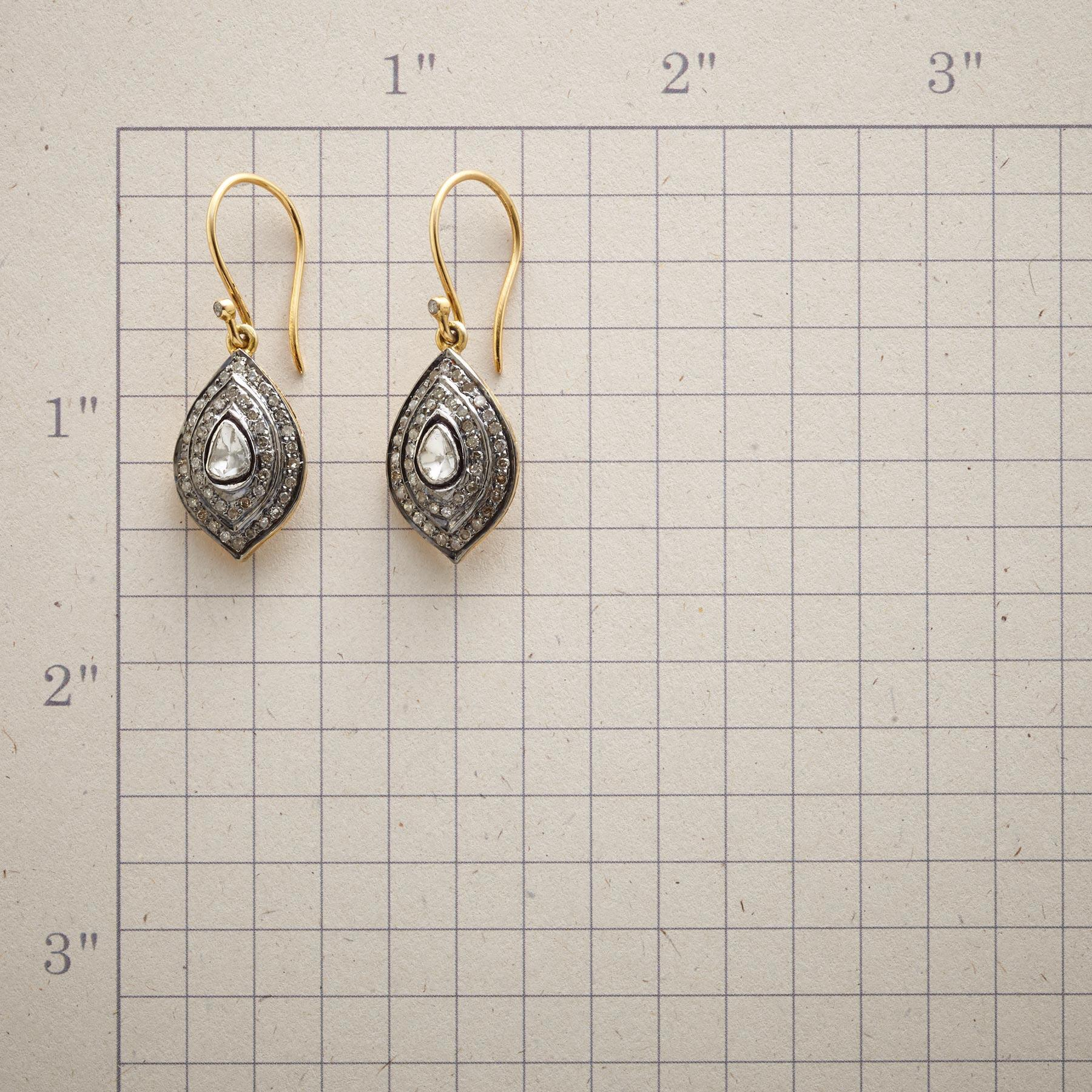MARQUESSA DIAMOND EARRINGS: View 2