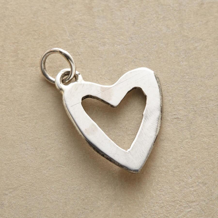 FAITH & LOVE HEART CHARM