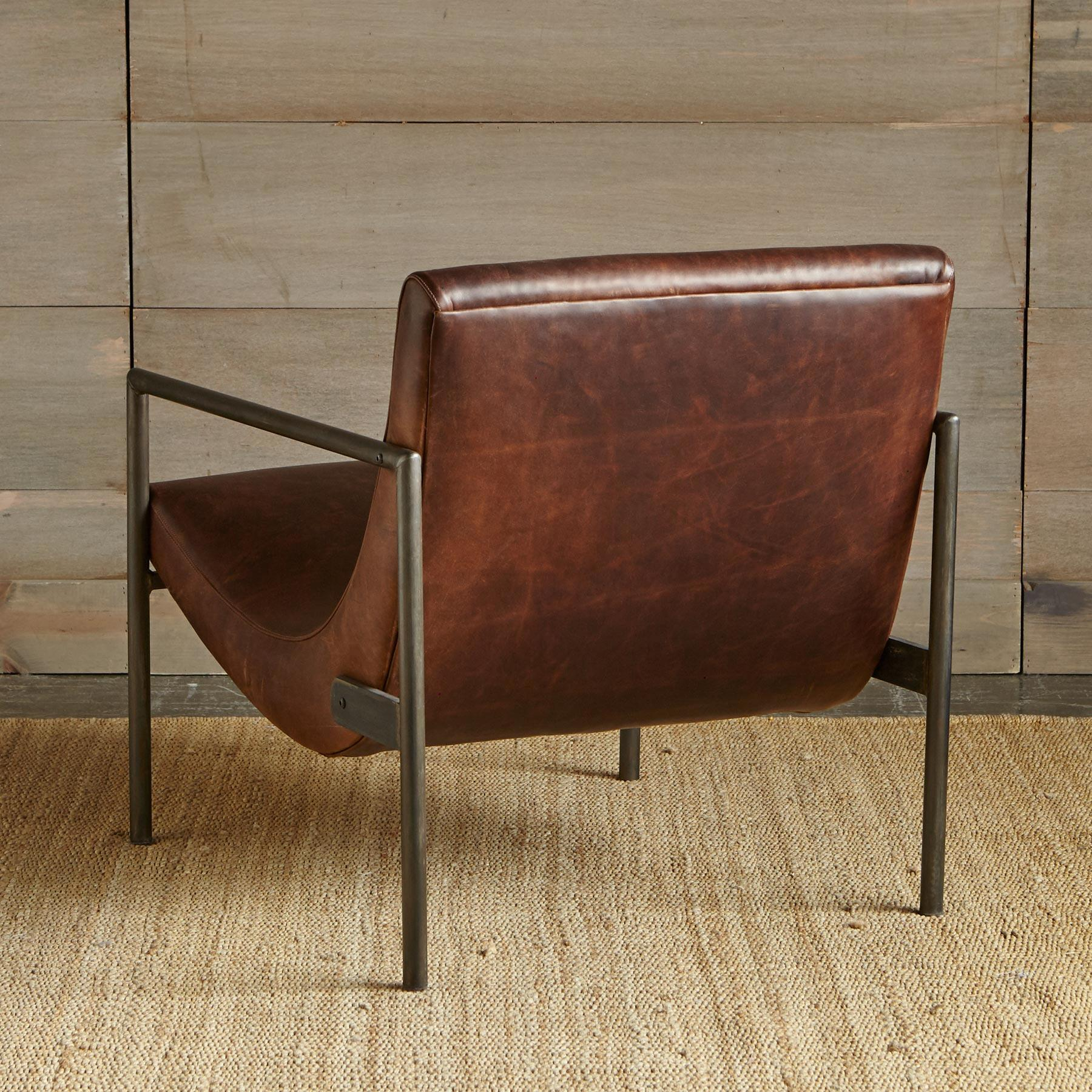 GRIFFITH LEATHER CLUB CHAIR: View 2