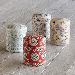 BOHEME CANISTERS, SET OF 4
