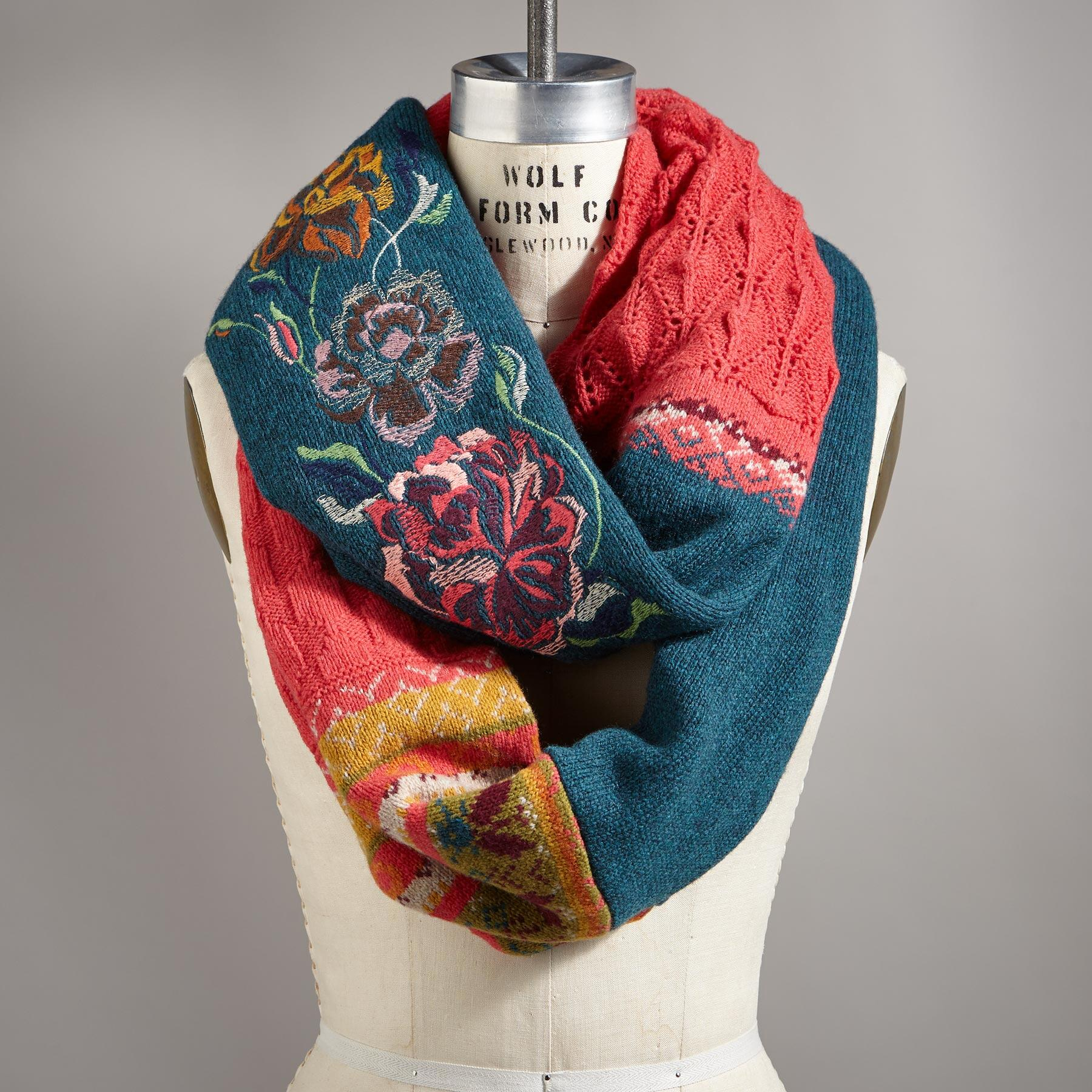 CENTURIES OF COLOR SCARF: View 1