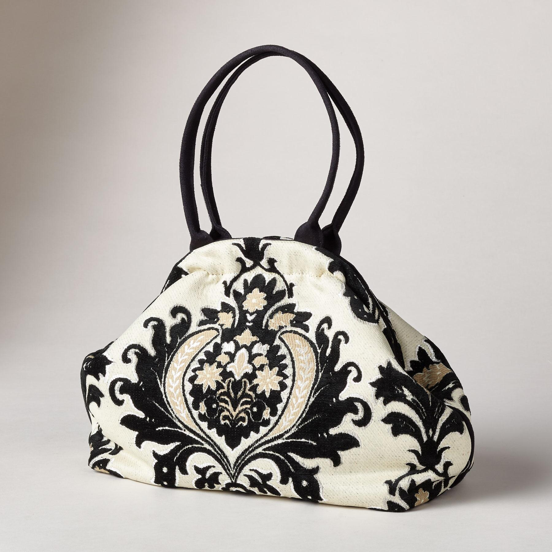 FLOURISHES TAPESTRY BAG: View 1