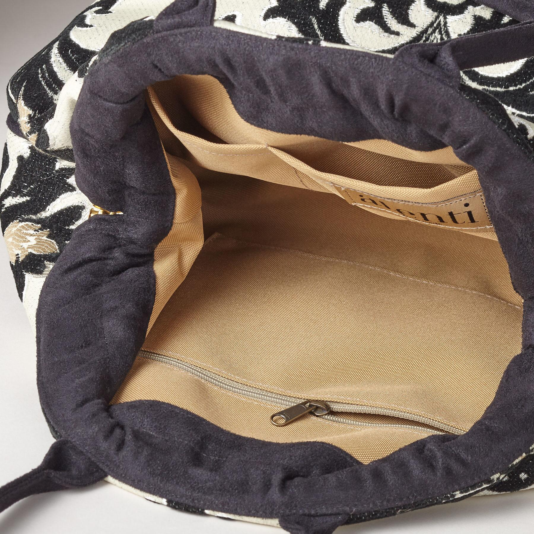 FLOURISHES TAPESTRY BAG: View 2