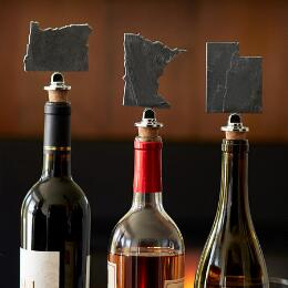 SLATE STATES WINE STOPPER