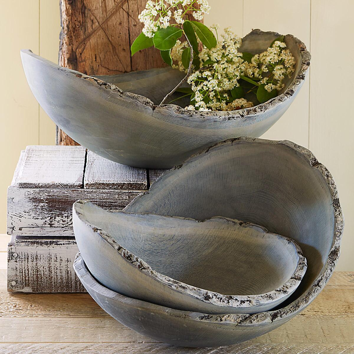 NEW ENGLAND DRIFTWOOD BOWL: View 1