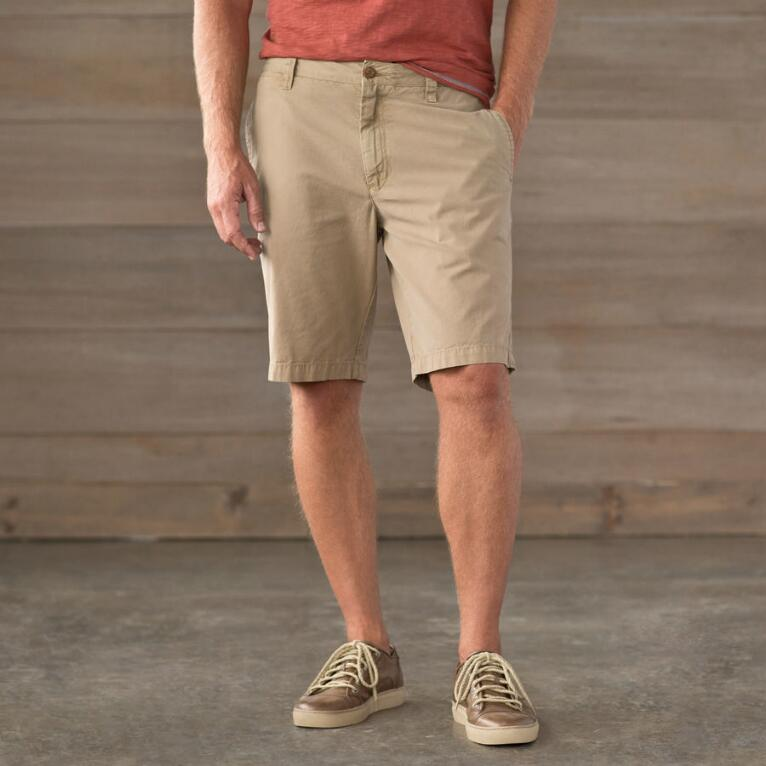 SOLID CANVAS WALKING SHORT