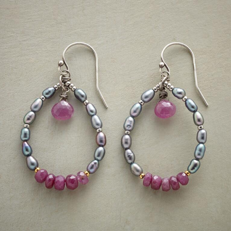 RUBY REBEL EARRINGS