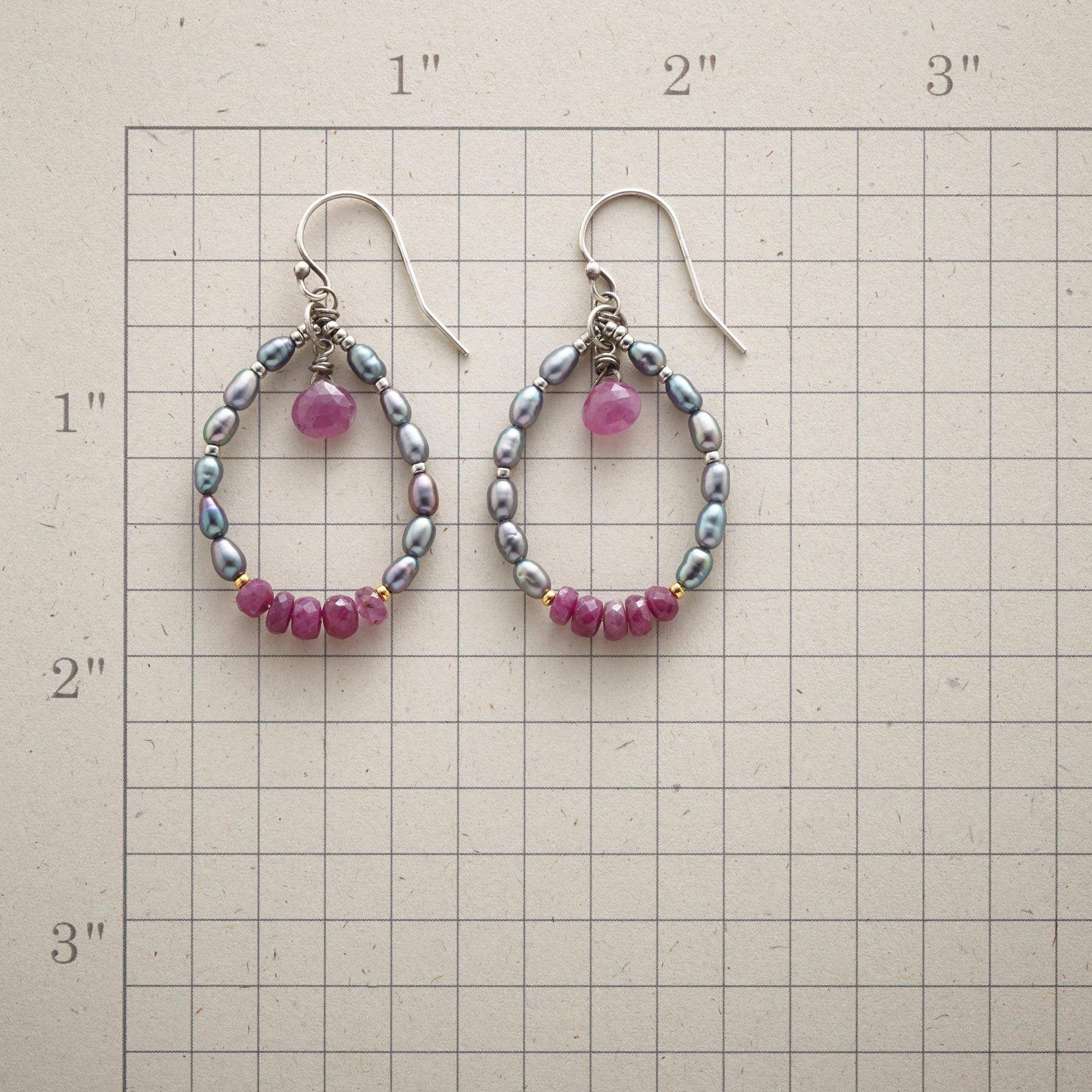RUBY REBEL EARRINGS: View 2